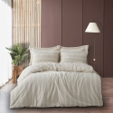 Natural Cotton Duvet Cover Set